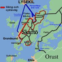 grundsund karta Skaftö.  Din guide till Skaftö grundsund karta